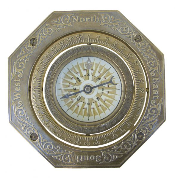 Boussole - décoration marine  - MARINE ANCIENNE