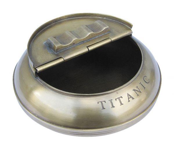Cendrier de table - modèle TITANIC
