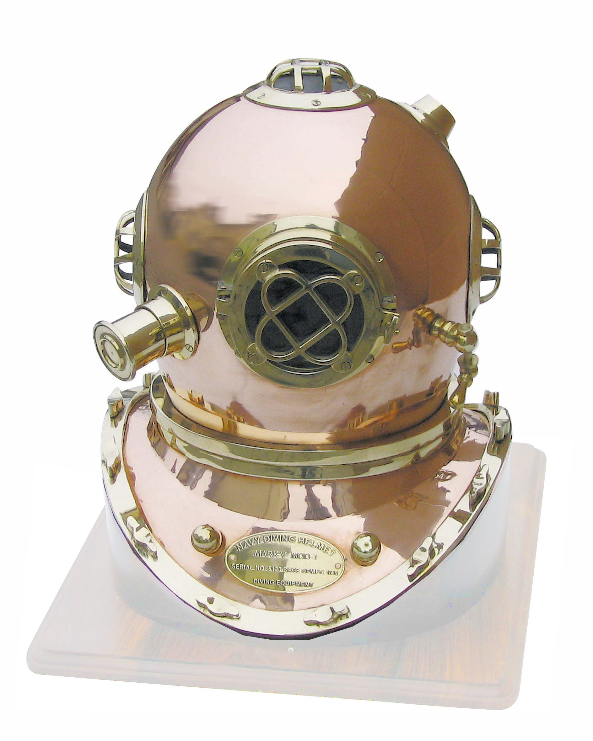 Helmet diver - Copper-Brass - reproduction of the mark V model - marine style - marine decoration
