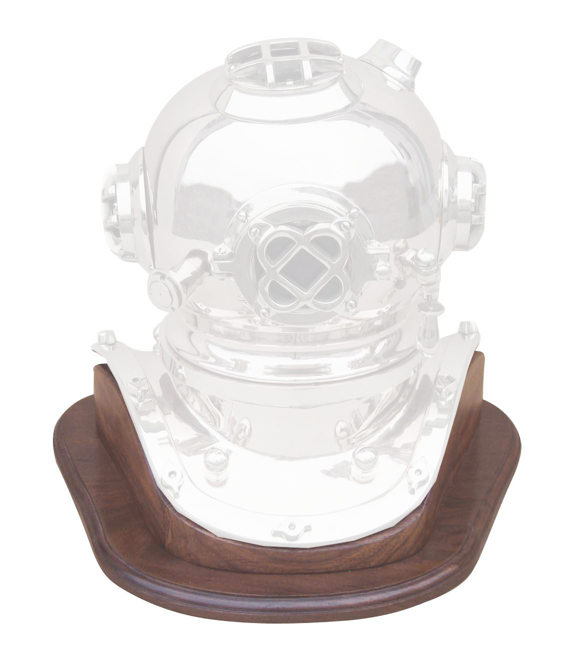 Wooden stand for helmet diver CA-1171 Reference - marine style - marine decoration