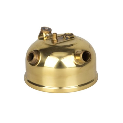 Tank chromed brass oil lamp PETROMAX HK150 - PETROMAX lamps