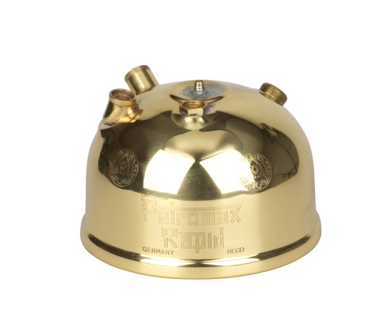 Polished brass oil lamp reservoir PETROMAX HK350 / HK500 - PETROMAX lamps