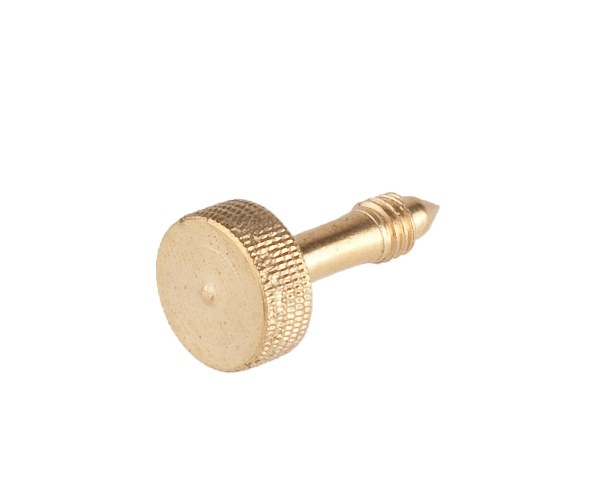 Polished brass gauge screw oil lamp PETROMAX - PETROMAX lamps