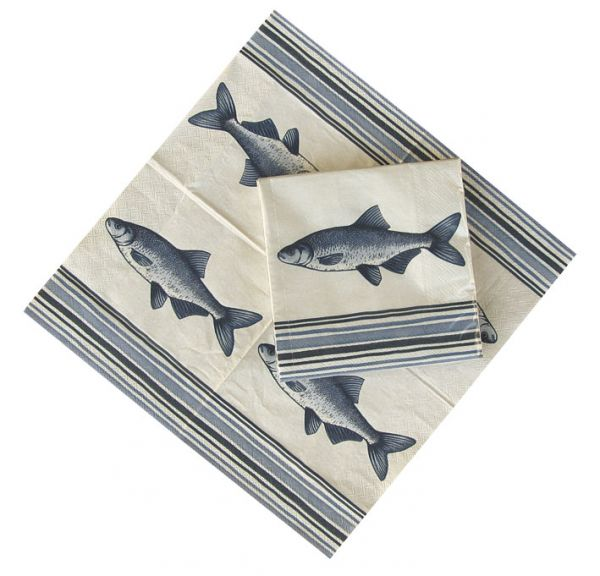 Towels - Fish - marine style - marine decoration