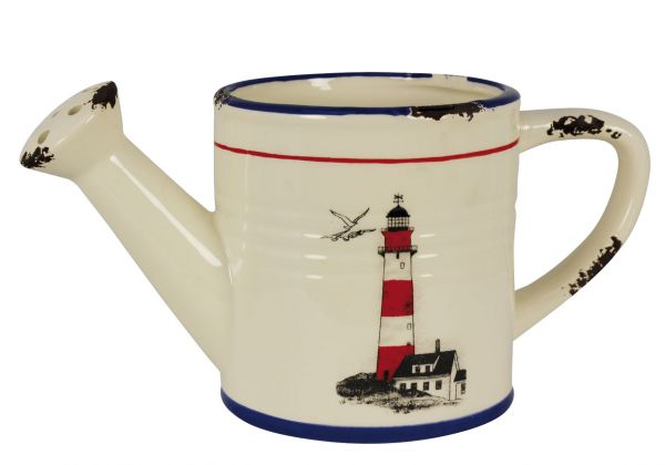 Watering with Lighthouse grounds - marine style - marine decoration