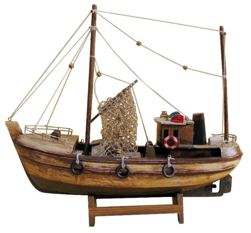 Wood Côtre - entire model in antique style - marine style - marine decoration