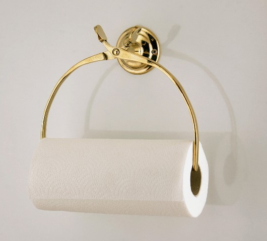 Polished Brass - towel holder - marine accessories - marine decoration