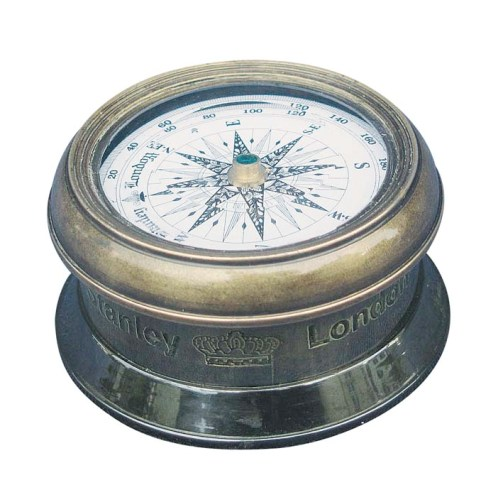 Antique brass finish Compass - marine style - marine decoration