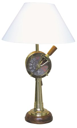 Marine shaped lamp Chadburn - marine style - marine decoration