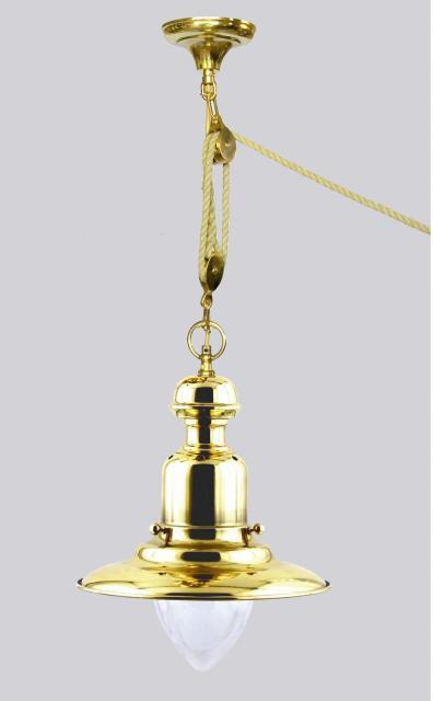 lampe de bureau lampes marine lampes opalines suspension en laiton avec poulies marine. Black Bedroom Furniture Sets. Home Design Ideas