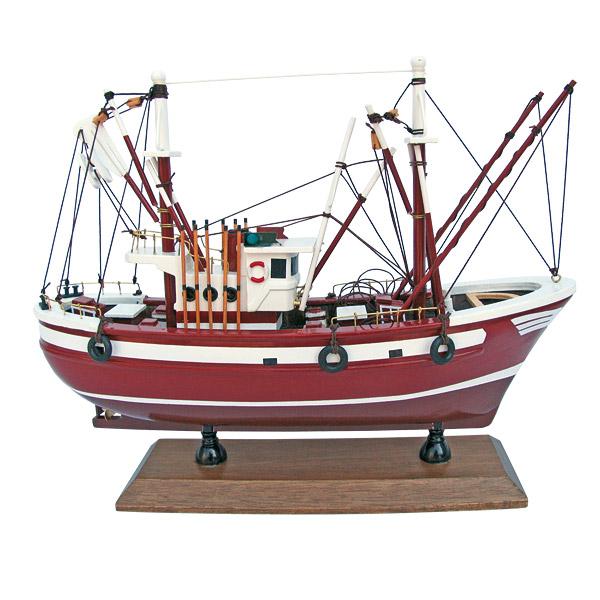 maquette de bateau chalutier dcoration marine d coration marine decoration maritime. Black Bedroom Furniture Sets. Home Design Ideas