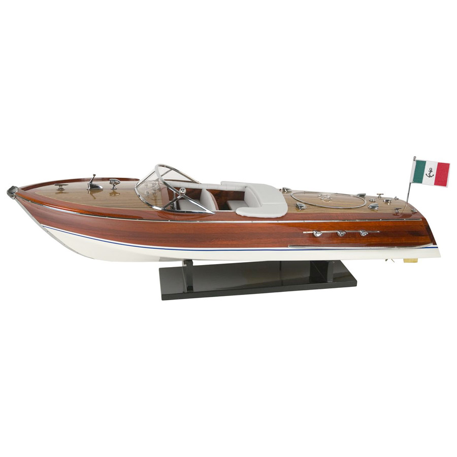Motorboat - luxury model - marine style - marine decoration