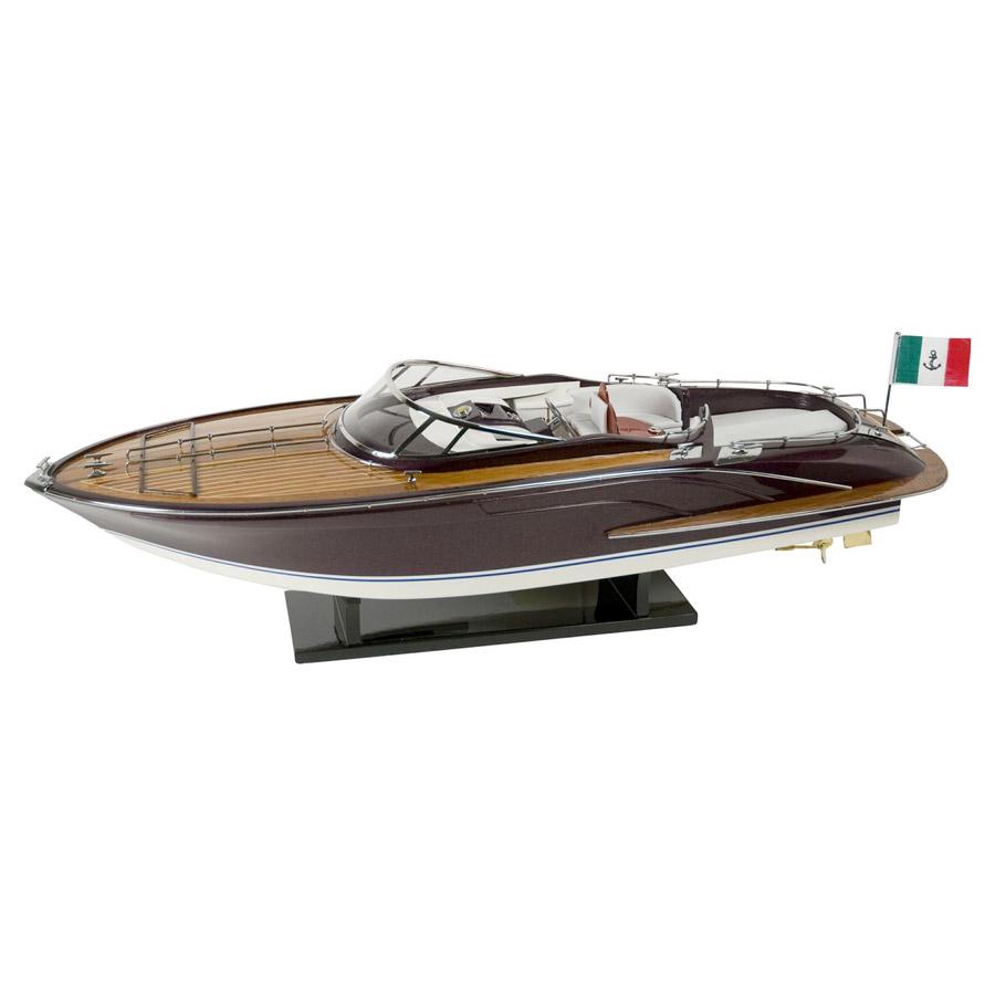 canot moteur maquette de luxe dcoration marine d coration marine decoration maritime. Black Bedroom Furniture Sets. Home Design Ideas