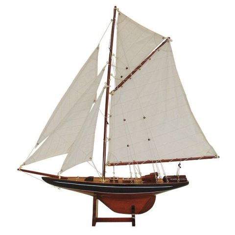 Model of boat types: Columbia - marine style - marine decoration