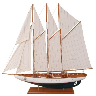 Model sailboat - marine style - marine decoration