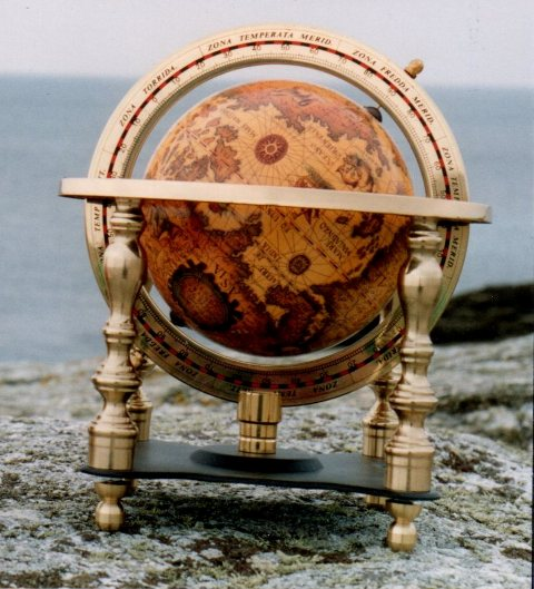 Globe 4 supports - marine accessories - marine decoration