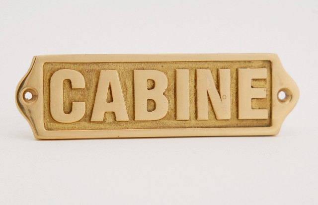 Door plate - CABIN - marine accessories - marine decoration