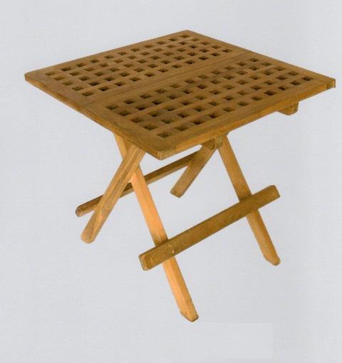 TEAK Table - marine accessories - marine decoration