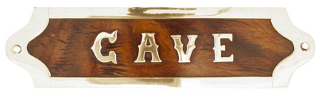 Plaque de porte cave en bois et laiton dcoration marine for Porte cave bois