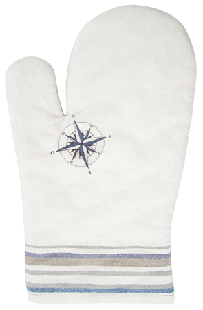 Beautiful kitchen accessory: Oven Glove Cotton - Regatta - marine style - marine decoration