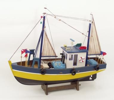 bateau de peche voilier