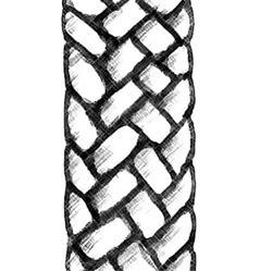 M�che de fibre de verre (ronde) pour lampe � p�trole<br><b>Livr� en 3 exemplaires</b>