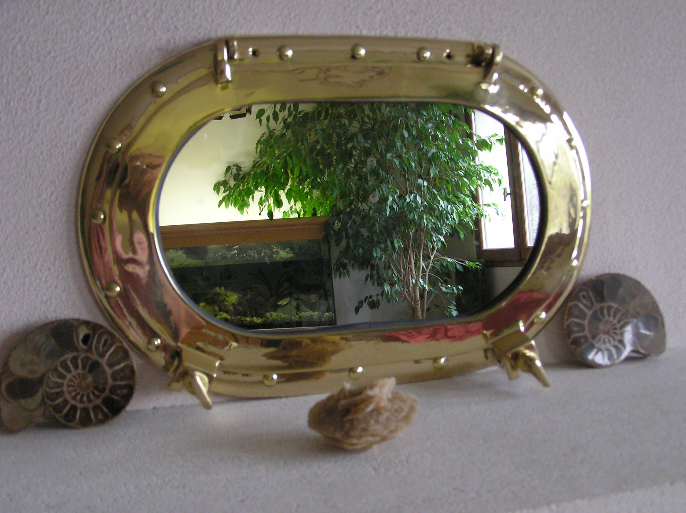 Miroirs hublots