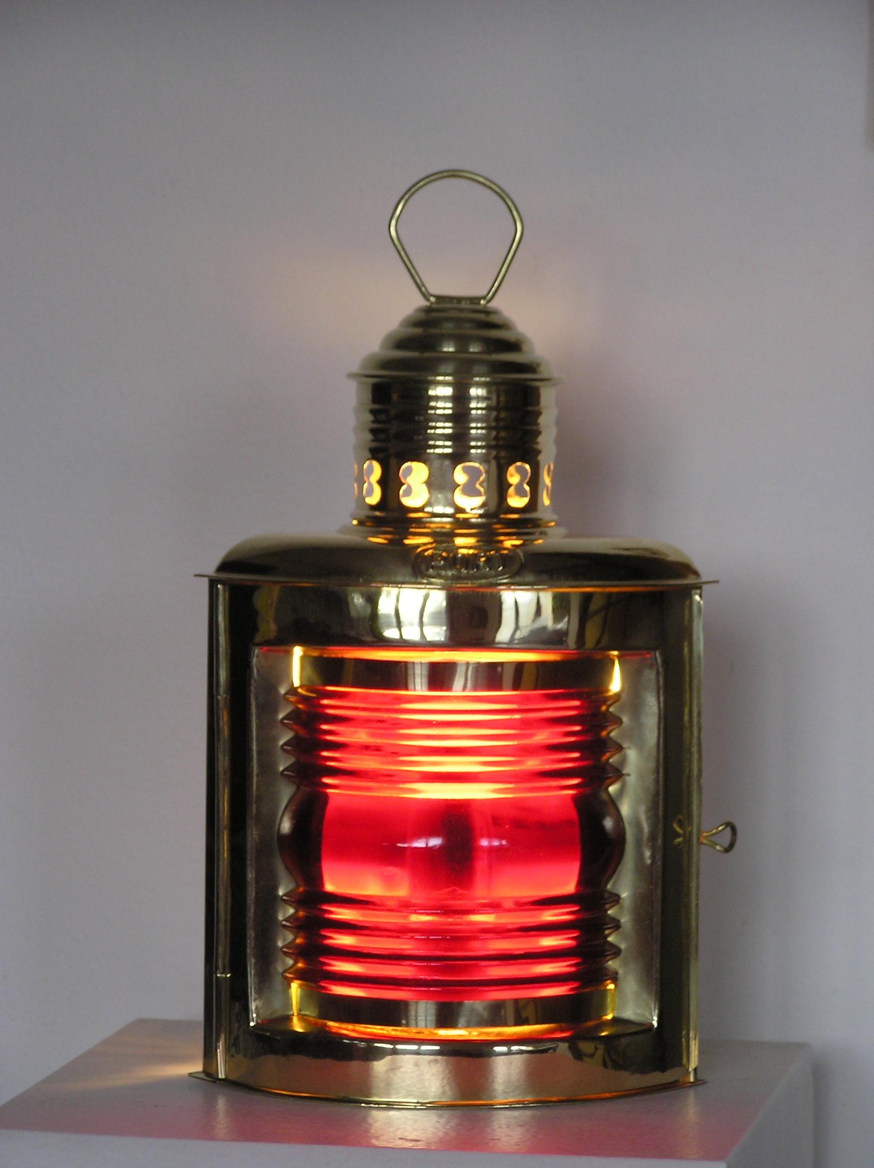 Lampe marine Babord